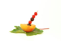 коктеил ягоды стоковая фотография rf