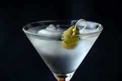 коктеил martini стоковое изображение