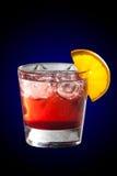 Коктеил с соком и лимоном гренадина Стоковые Фотографии RF
