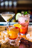 коктеилы Стоковая Фотография RF