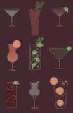 коктеилы Стоковая Фотография