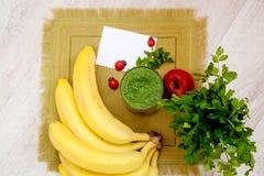 Коктеиль витамина зеленый Вытрезвитель Стоковые Изображения