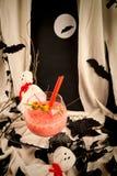 Коктеиль партии хеллоуина Стоковое Изображение