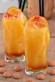 Коктеиль персика Стоковые Фото
