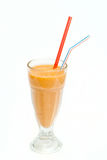 Коктеиль плодоовощ в чашке с straw6 Стоковая Фотография
