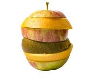 Коктеиль плодоовощ яблока Стоковая Фотография