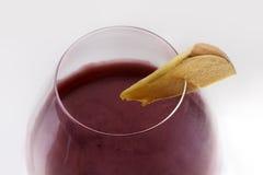 Коктеиль свекловичного сока и вишни с тыквой Стоковые Фотографии RF