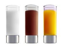 Коктеиль спирта изолированный на белой предпосылке Стоковые Изображения RF