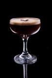 Коктеиль спиртного лета кофе рекреационный Стоковое Изображение