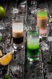 3 коктеиля съемки Стоковые Изображения