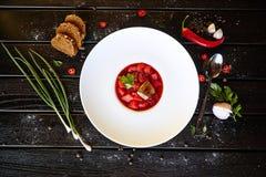 Коктейль напитков десерта овощей макаронных изделий овощей блюда деликатеса мяса еды стоковая фотография rf