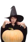 колдуя ведьма Стоковая Фотография RF