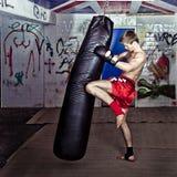 колено пинком Стоковое Изображение RF