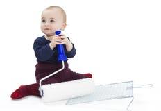 колеривщики оборудования ребенка молодые Стоковые Изображения RF