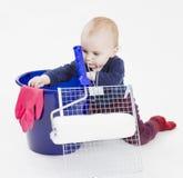 колеривщики оборудования ребенка молодые Стоковые Фотографии RF