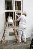Колеривщик дома Стоковая Фотография