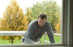 Колеривщик на ремонтине Стоковое Фото