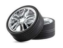 колеса автомобиля Стоковые Изображения RF