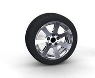 Колеса автомобиля Стоковое Фото