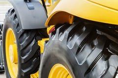 Колеса и шасси трактора Стоковое Изображение RF