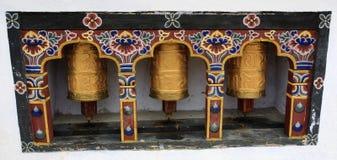 колеса молитве закручивая Стоковые Фотографии RF