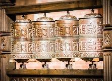 Колеса молитве Стоковое Изображение RF