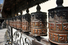 колеса молитве стоковое фото