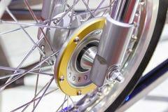 Колеса мотоцикла, спицы провода мотоцикла стоковое изображение rf