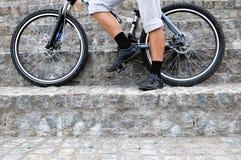 колеса ног Стоковое фото RF