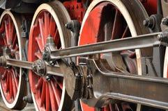 колеса поезда Стоковое фото RF