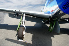 колеса самолета Стоковое Изображение