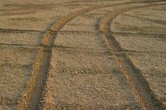 колеса следов Стоковые Изображения RF