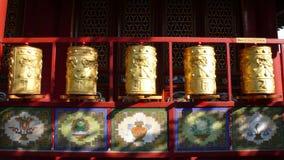 колеса Тибета молитве Стоковые Фото