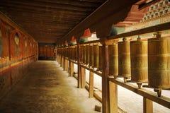 колеса Тибета молитве Стоковые Изображения RF