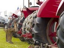 колеса трактора Стоковая Фотография