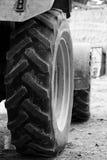 колеса трактора стоковые фото
