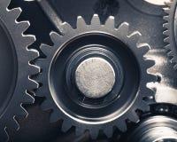 Колеса шестерни двигателя Стоковое Изображение RF