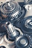 колеса шестерни промышленные Стоковое Фото