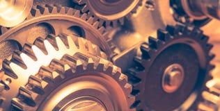 колеса шестерни промышленные Стоковые Изображения RF