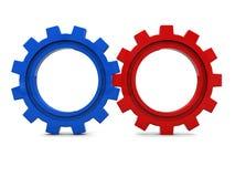 колеса шестерни Стоковое фото RF
