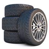 колеса Стоковые Фотографии RF
