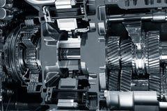 Колеса cog двигателя внутренние Стоковые Изображения RF