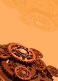 колеса cogs иллюстрация штока
