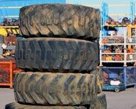 колеса scrapyard Стоковое Изображение