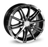 колесо автомобиля сплава Стоковые Фотографии RF