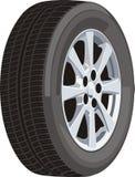 колесо автомобиля Стоковые Изображения RF