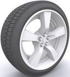 колесо автомобиля Бесплатная Иллюстрация