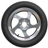 колесо автомобиля Стоковое Изображение