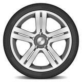 колесо автомобиля иллюстрация штока