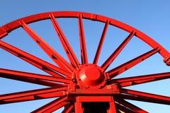 колесо вала шахты Стоковые Изображения RF